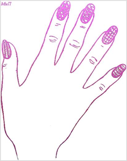 Фото дизайна акриловых ногтей